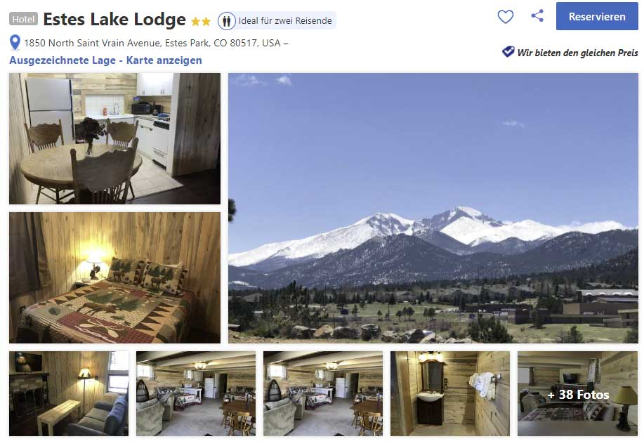 Hotel Estes Lake Lodge