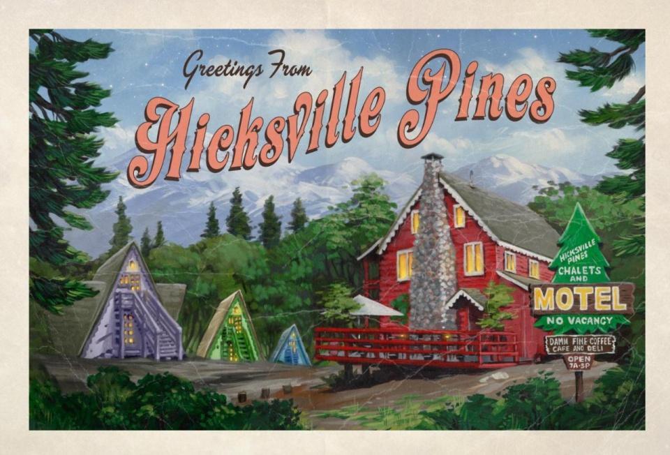 """Cannabis Urlaub """"Hicksville Pines Bud & Breakfast""""Deinen Joint mit Freunde genießen!https://www.cannabisurlaub.com/hotelangebote/hicksville"""